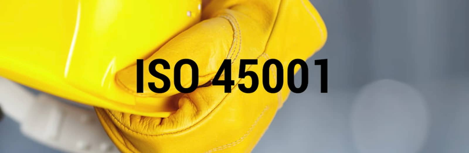 ISO 45001 … TI STIAMO ASPETTANDO