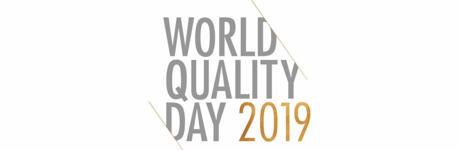 14 NOVEMBRE 2019 – QUALITY WORLD DAY
