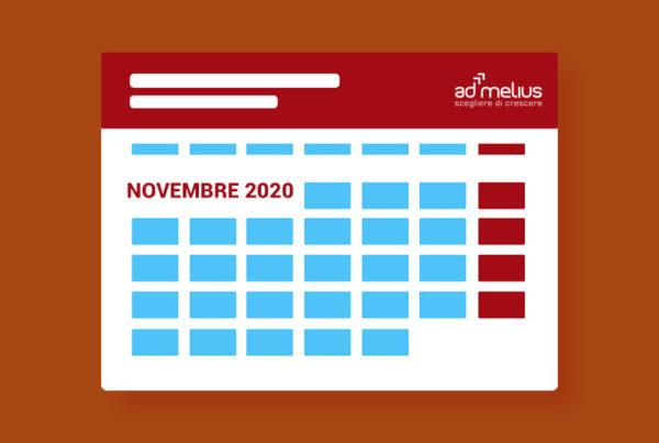 testata calendario novembre 2020
