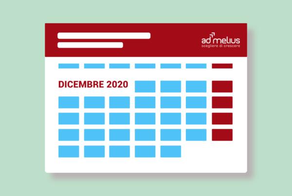 calendario eventi admelius dicembre 2020