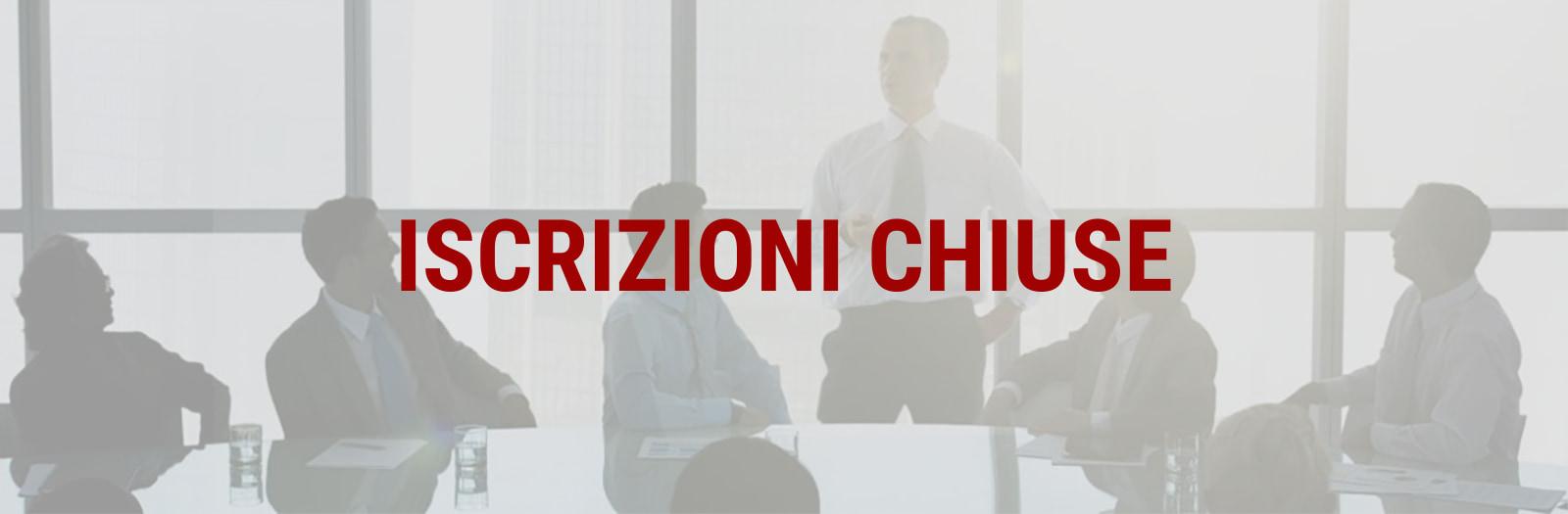 corso dirigenti ISCRIZIONI CHIUSE